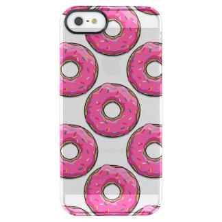 Bestrooit de Roze Doughnut van de cartoon met
