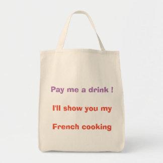 Betaal me een drank! draagtas