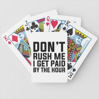 Betaald tegen het Uur Poker Kaarten
