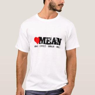 BETEKEN uitdrukkelijk, hoekige stapel, mongo en T Shirt