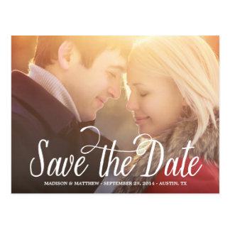 Betekende | sparen het Briefkaart van de Datum te