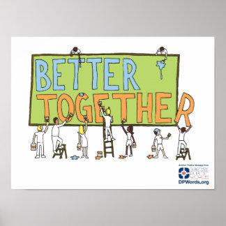 Beter samen poster