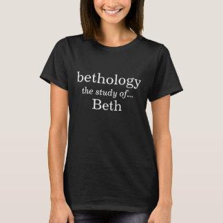 Bethology de studie van beth t shirt