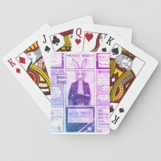 Betoverde de Speelkaarten van het Konijn