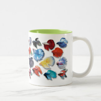 Bettaのマグカップ Tweekleurige Koffiemok