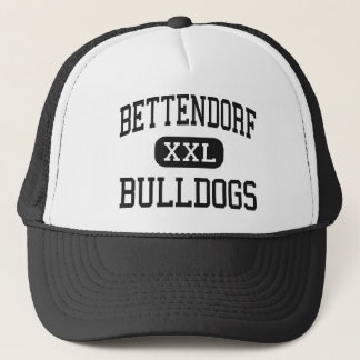Bettendorf - Hoge Buldoggen - - Bettendorf Iowa Trucker Pet