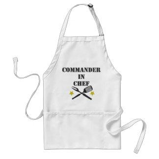 Bevelhebber in Chef-kok Standaard Schort