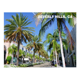 Beverly Hills, Rodeo Dr. Postcard! Briefkaart