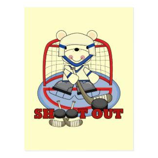 Bevestig de T-shirts en de Giften van het Hockey Briefkaart