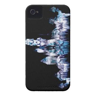 Bevroren Kasteel - Sneeuwvlokken iPhone 4 Hoesje