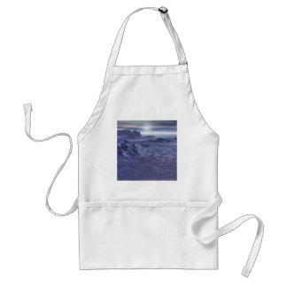 Bevroren Zee van Neptunus Standaard Schort