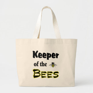 bewaarder van de bijen jumbo draagtas