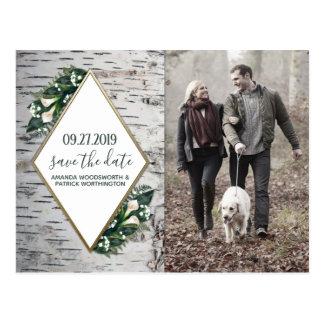 Bewaart het Botanische Huwelijk van de Boom van de Briefkaart