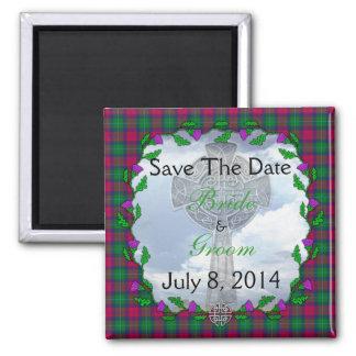 Bewaart het Schotse Huwelijk van Akins de Datum Magneet