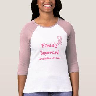 Bewaren de vers Gedrukte Mammogrammen de T-shirt