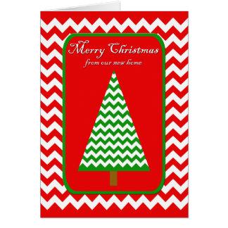 Bewegende Kerstkaart - Adreswijziging Kaart