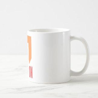 beweging koffiemok