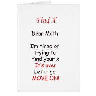 Beweging op Wiskunde Briefkaarten 0