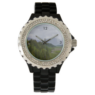 Bewolkt in Denali Horloges