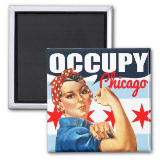 Bezet Chicago Rosie de Magneten van de Klinkhamer