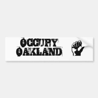 Bezet de Sticker van de Bumper van Oakland Bumpersticker
