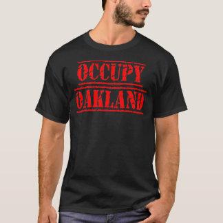 Bezet de T-shirt van Oakland