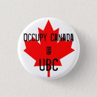 Bezet de uBC-Universiteit van Canada @ van Brits Ronde Button 3,2 Cm