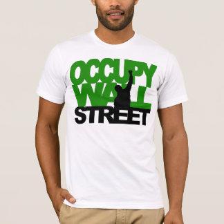 BEZET Groen WALL STREET T Shirt