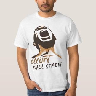 Bezet het overhemd van Wall Street T Shirt