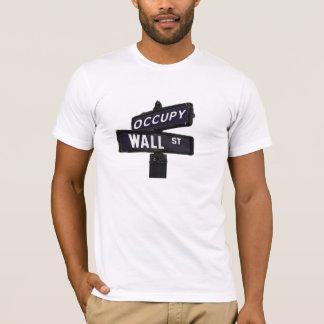 Bezet het T-shirt van Wall Street