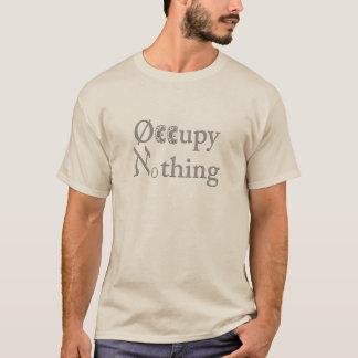 Bezet niets T-shirt