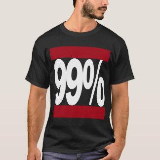 Bezet Wall Street 99% Klassiek Overhemd van de T Shirt