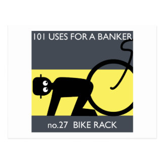 bezet Wall Street - neem uw fiets! Briefkaart