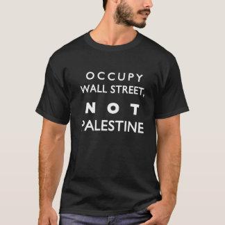 Bezet Wall Street niet Palestina T Shirt