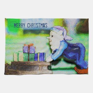 Bezig Elf door Shirley Taylor Theedoek