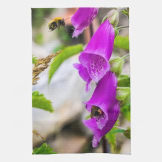 Bezige Bijen in Schotland Keuken Handdoeken