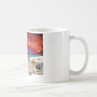 BEZINNINGEN VAN de Rots    Ayers van oz ULURU Koffiemok