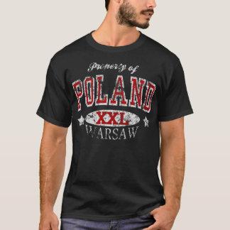 Bezit van de t-shirt van Polen Warshau