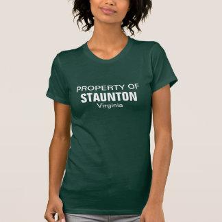Bezit van Staunton, Virginia T Shirt