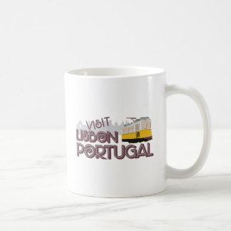 Bezoek Lissabon Portugal Koffiemok