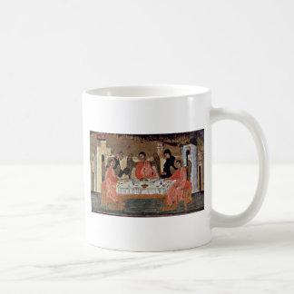 Bezoek van de Drie Engelen met Abraham en Zijn Hos Koffiemok