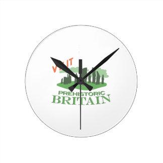Bezoek Voorhistorisch Groot-Brittannië Ronde Klok Medium