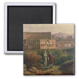 Bezoeken van Johann Wolfgang von Goethe Vierkante Magneet