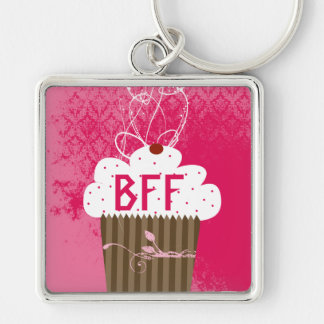 BFF Beste Vrienden voor altijd Cupcake Keychain Sleutel Hangers