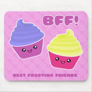 BFF Kawaii Cupcakes Muismatten