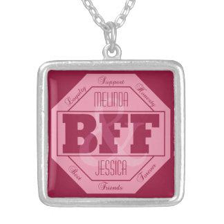 BFF Vriendschap - douanenamen - ketting