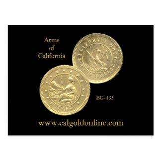 """BG-435 het Briefkaart van """"Wapens van Californië"""""""