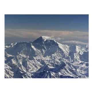 BHUTAN. Eeuwige sneeuw op de Berg Everest, Briefkaart