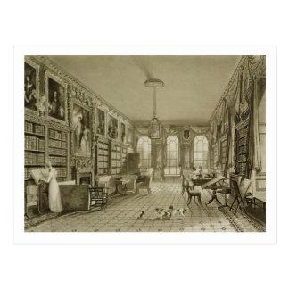 Bibliotheek als Woonkamer, Cassiobury Park, Briefkaart
