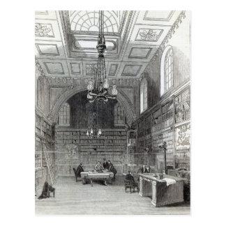 Bibliotheek van het Hogerhuis Briefkaart